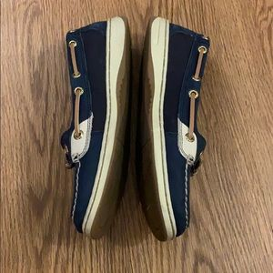Sperry Shoes - Navy sperry top siders ⛵️